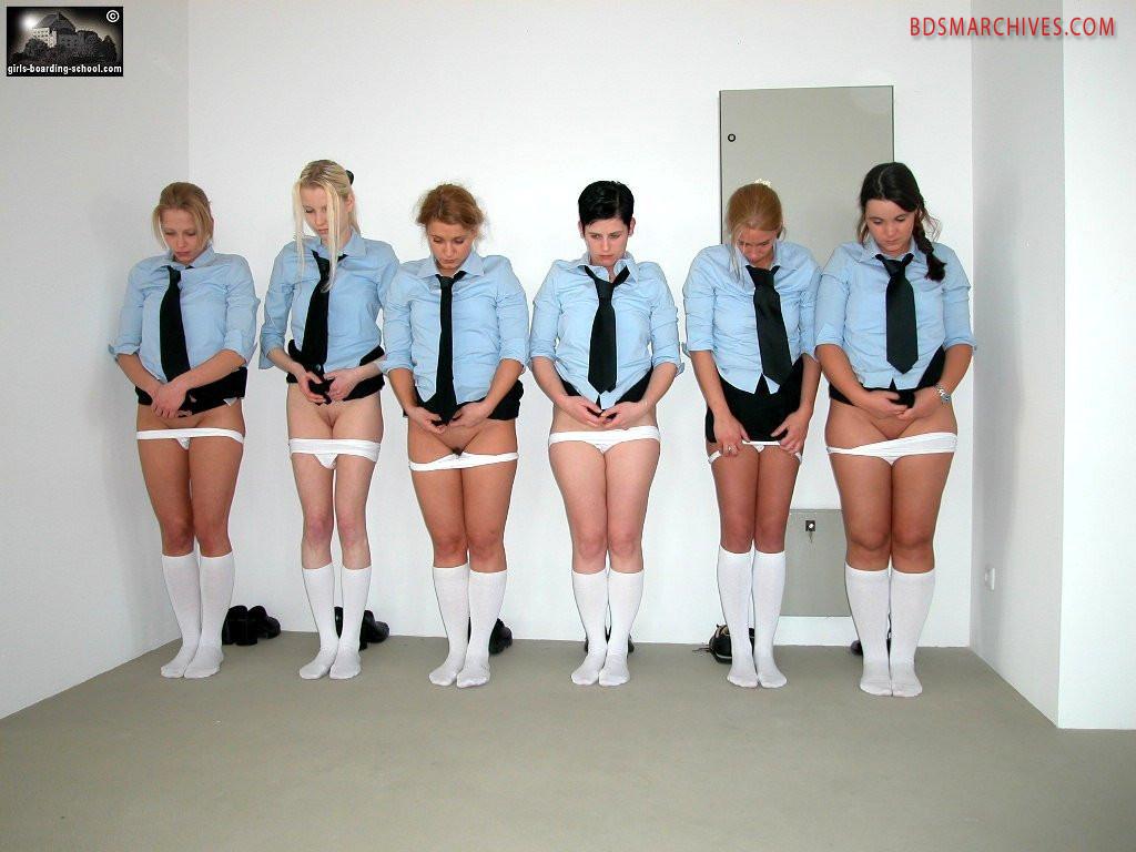 Six sporty girls - Girls-boarding-school - BDSM Archives
